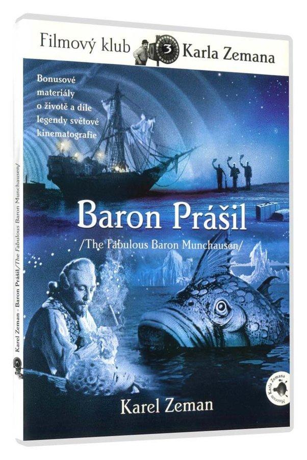 Baron Prášil (DVD) - digitalizovaná edice