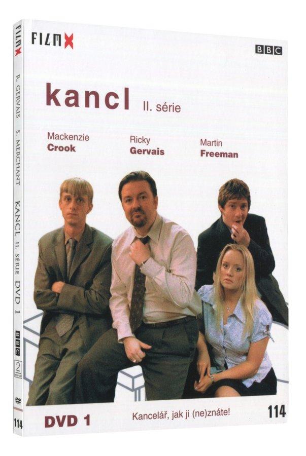 Kancl 2. série DVD 1 (1-3) - edice Film X - české titulky