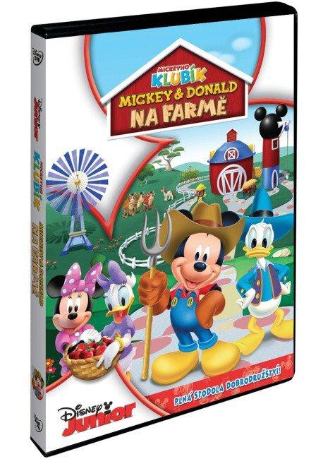 Disney Junior: Mickey a Donald na farmě (DVD)