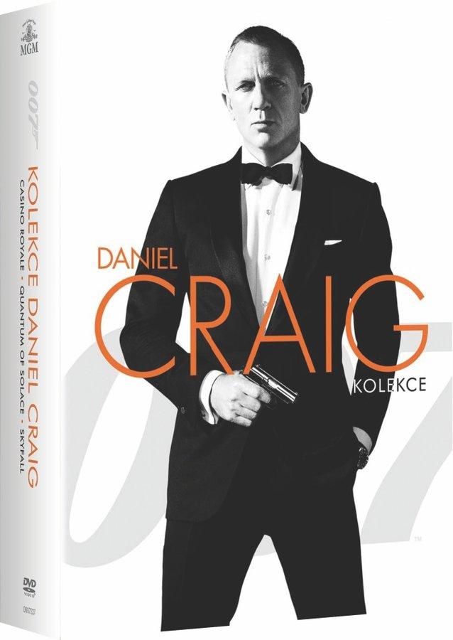 BOND - Daniel Craig - kolekce - 3xDVD