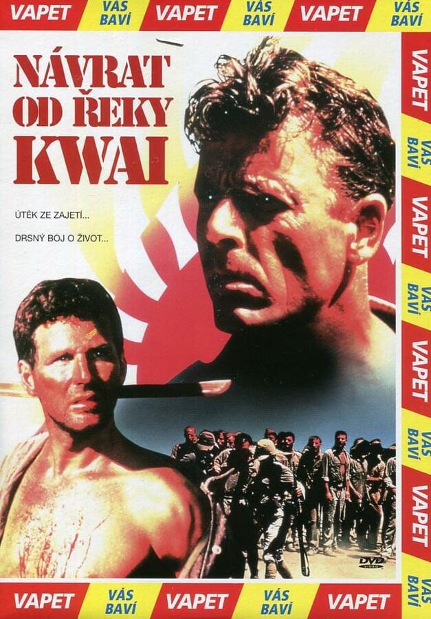 Návrat od řeky Kwai (DVD) (papírový obal)