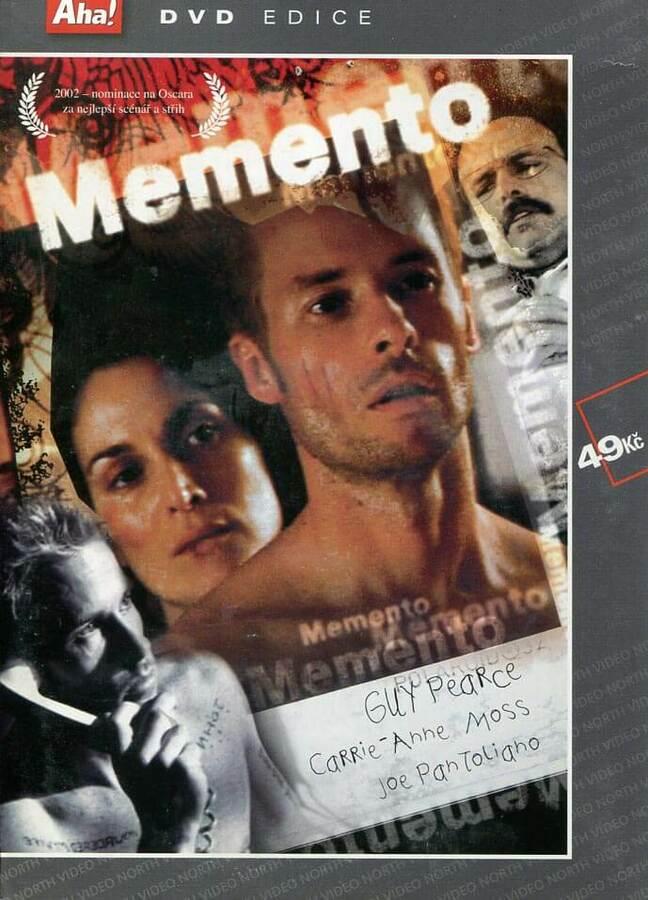 Memento (DVD) (papírový obal)