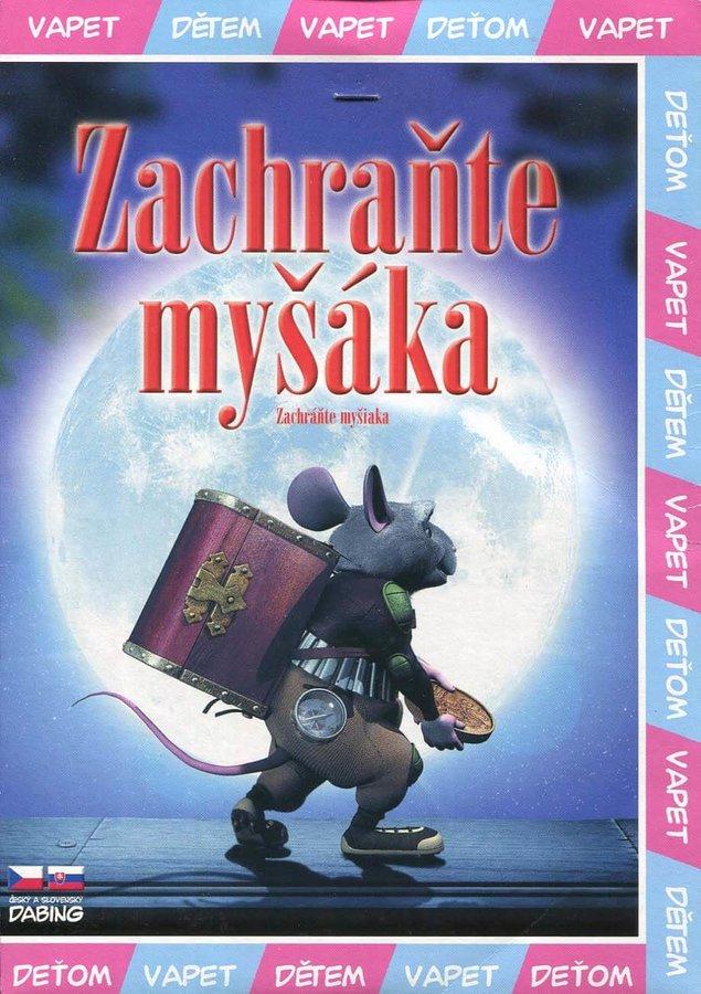 Zachraňte myšáka (DVD) (papírový obal)