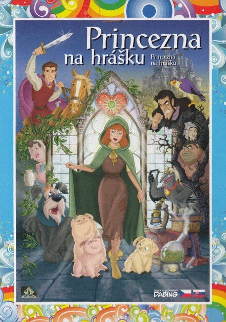 Princezna na hrášku (DVD) (papírový obal)