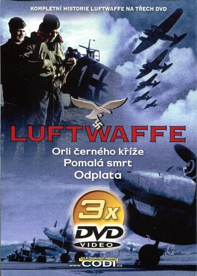 Luftwaffe - 3 DVD (papírový obal)