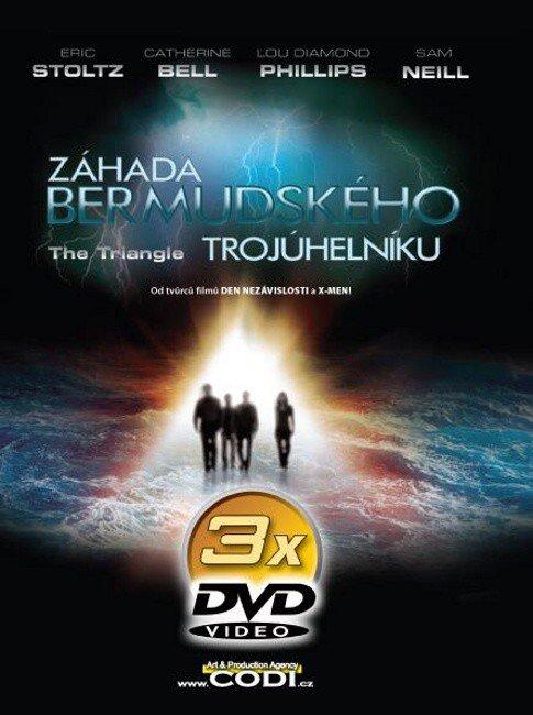 Záhada Bermudského trojúhelníku 1-3 (3 DVD) (papírový obal)