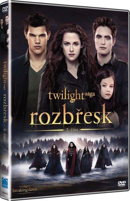 Rozbřesk: Twilight sága - 2. část (DVD)