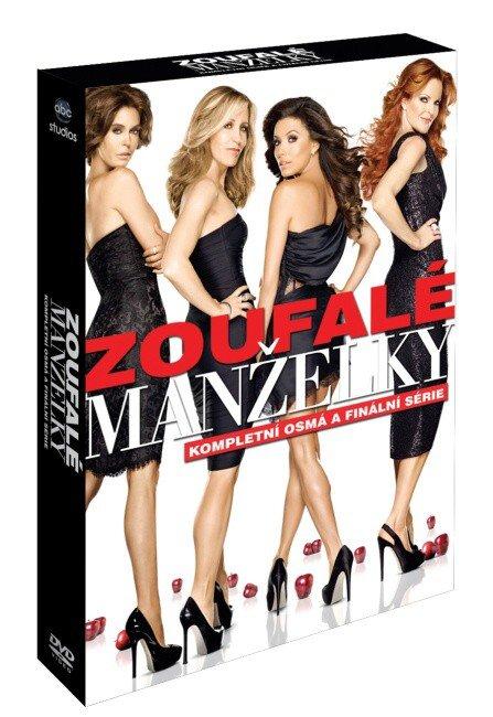 Zoufalé manželky 8. sezóna - 6 DVD