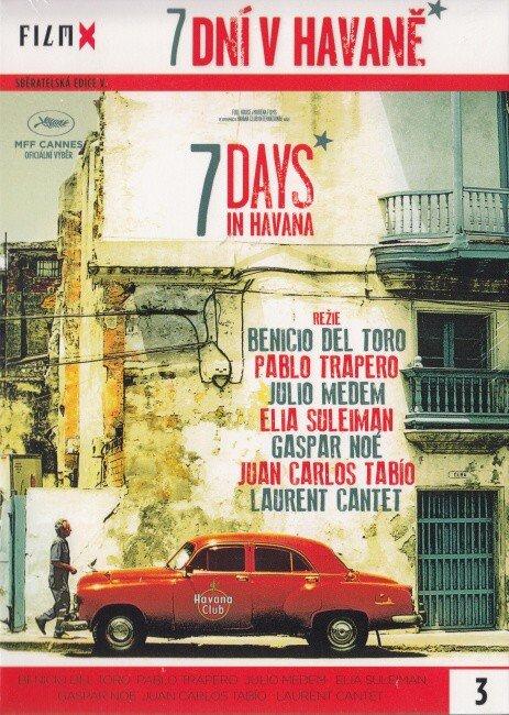 7 dní v Havaně (DVD) - edice Film X - české titulky