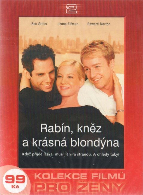 Rabín, kněz a krásná blondýna (DVD) - digipack