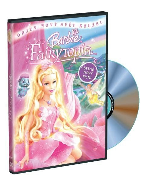 Barbie - Fairytopia a kouzlo duhy (DVD) s přívěškem