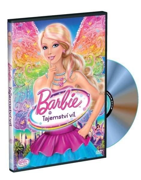 Barbie - Tajemství víl (DVD) s přívěškem