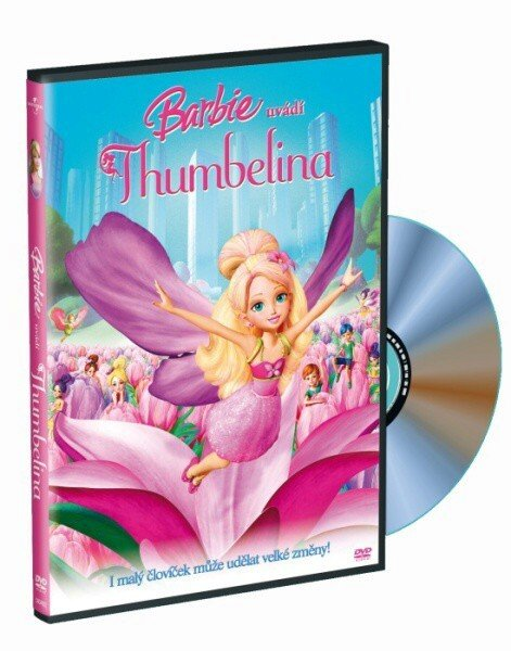 Barbie - Thumbelina (DVD) s přívěškem
