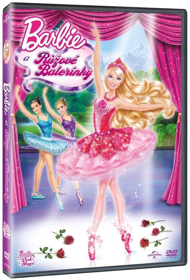 Barbie a Růžové balerínky (DVD)