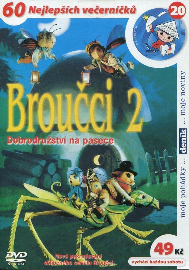 Broučci 2 (DVD) (papírový obal)