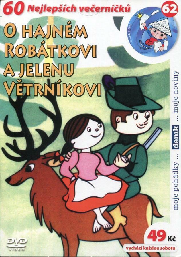 O hajném Robátkovi a jelenu Větrníkovi (DVD) (papírový obal)