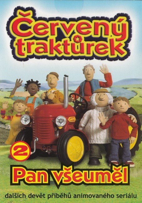 Červený traktůrek 2 - Pan Všeuměl (9 dílů) (DVD) (papírový obal)