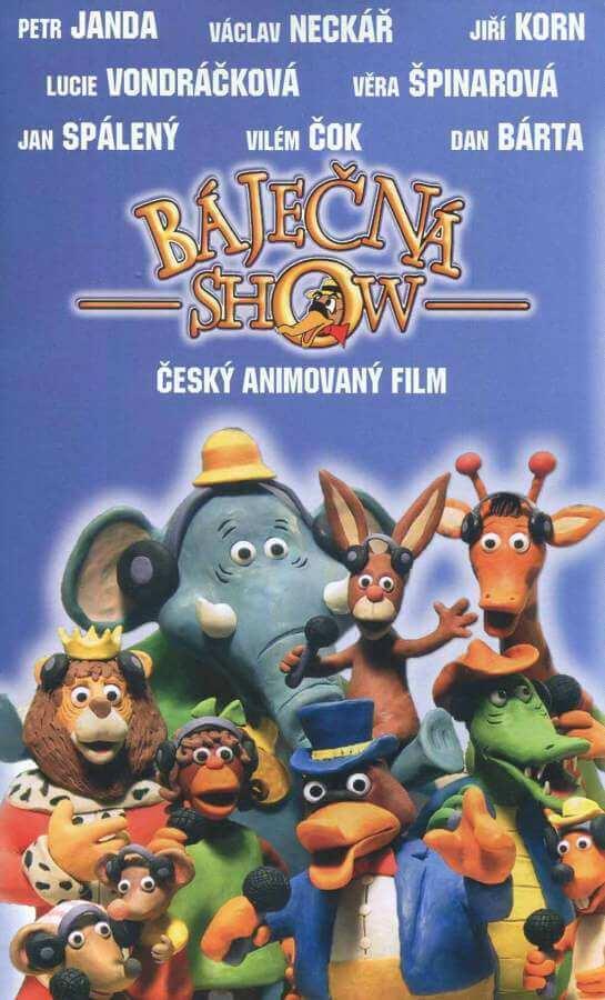 Báječná show (DVD) (papírový obal)