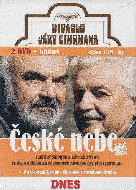 Divadlo Járy Cimrmana - České nebe - 2 DVD