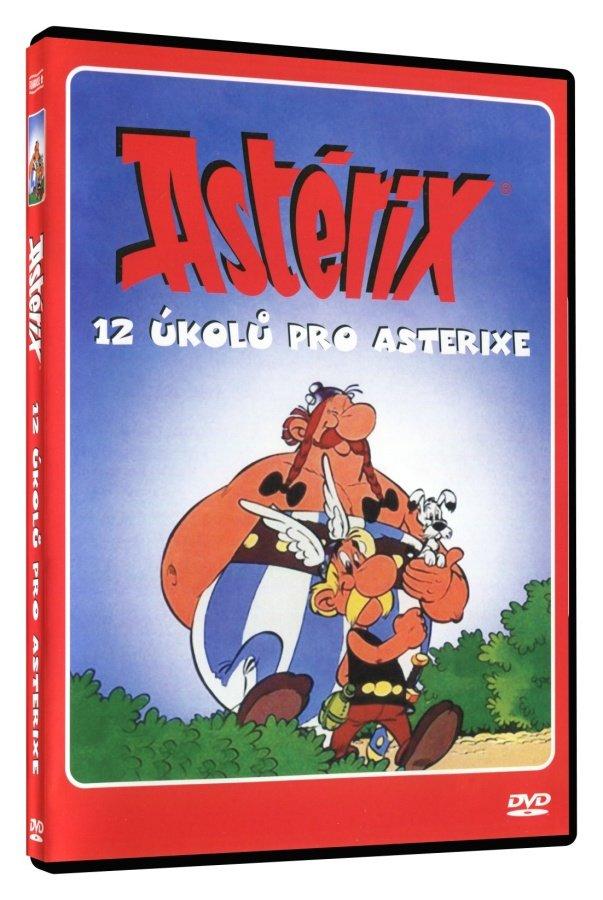 Asterix - 12 úkolů pro Asterixe (DVD) (papírový obal)