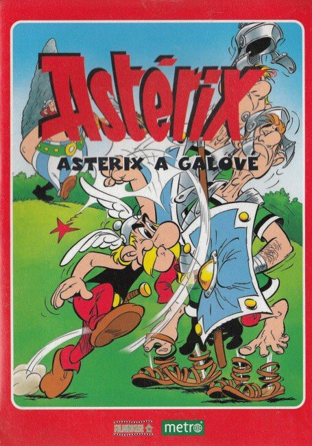 Asterix - Asterix a Galové (DVD) (papírový obal)