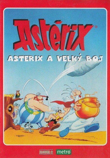 Asterix - Asterix a velký boj (DVD) (papírový obal)