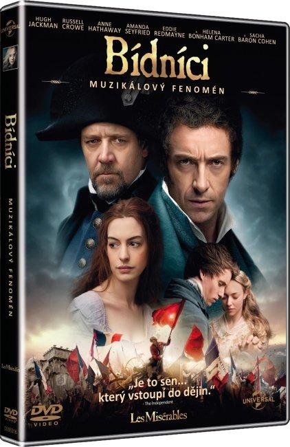 Bídníci (DVD) - muzikál - české titulky