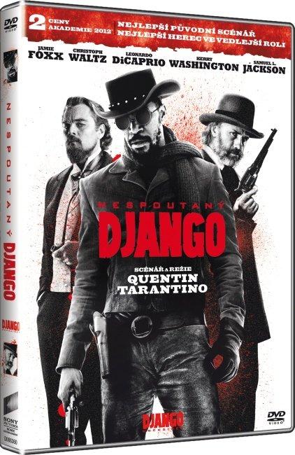 Nespoutaný django (DVD)