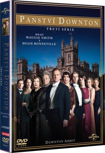 Panství Downton - 3. série (4xDVD) - 8 dílů + Vánoční speciální díl