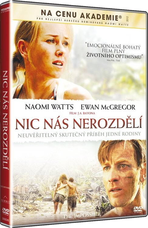 Nic nás nerozdělí (DVD)