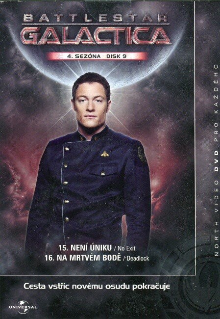 Battlestar Galactica (DVD) - 4. sezóna DISK 9 (papírový obal)
