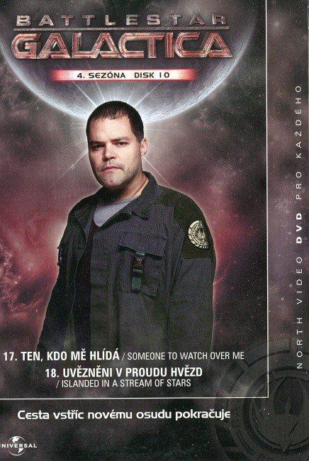 Battlestar Galactica (DVD) - 4. sezóna DISK 10 (papírový obal)
