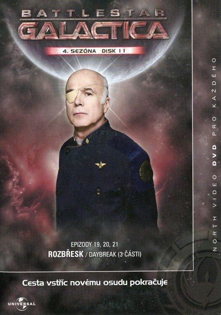 Battlestar Galactica (DVD) - 4. sezóna DISK 11 (papírový obal)