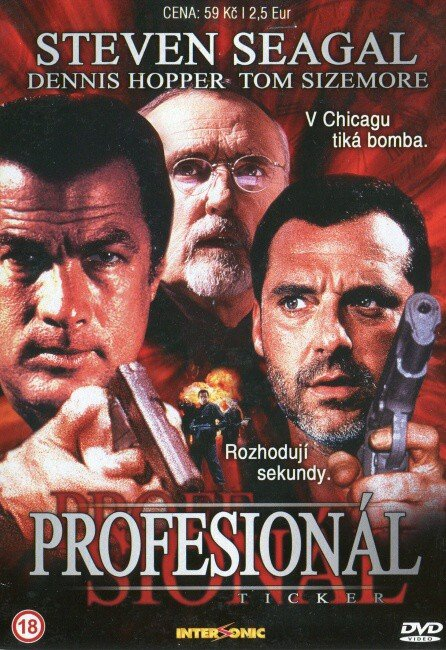 Profesionál (DVD) (Seagal) (papírový obal)