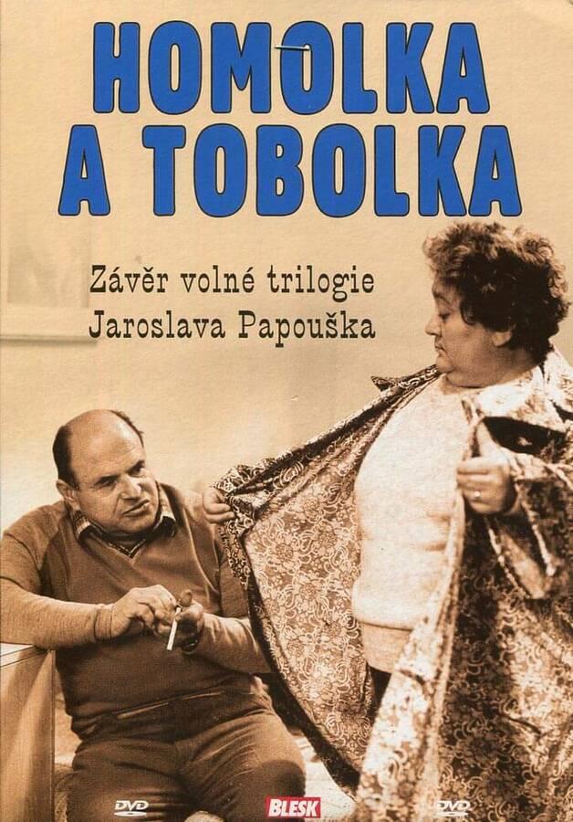 Homolka a Tobolka (DVD) (papírový obal)