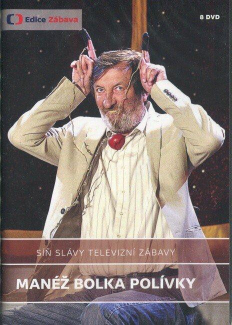 Síň slávy televizní zábavy - Manéž Bolka Polívky - 8 DVD