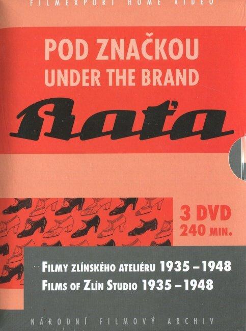 Pod značkou BAŤA (DVD) - speciální kolekce 3xDVD