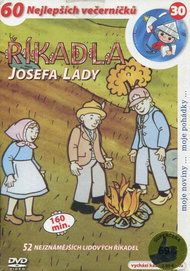 Říkadla Josefa Lady (DVD) (papírový obal)