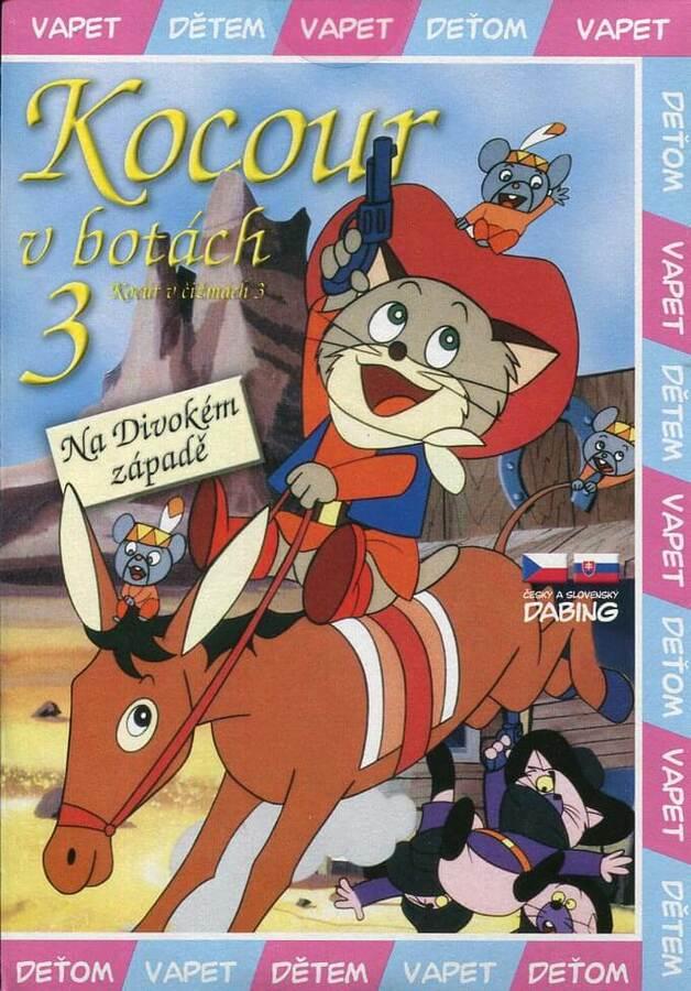Kocour v botách 3 (DVD) (papírový obal)