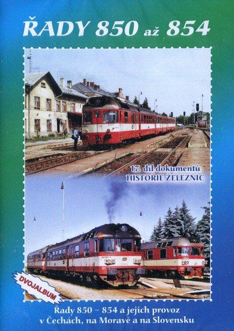 Historie železnic: Lokomotivy řad 850 až 854 (2 DVD)