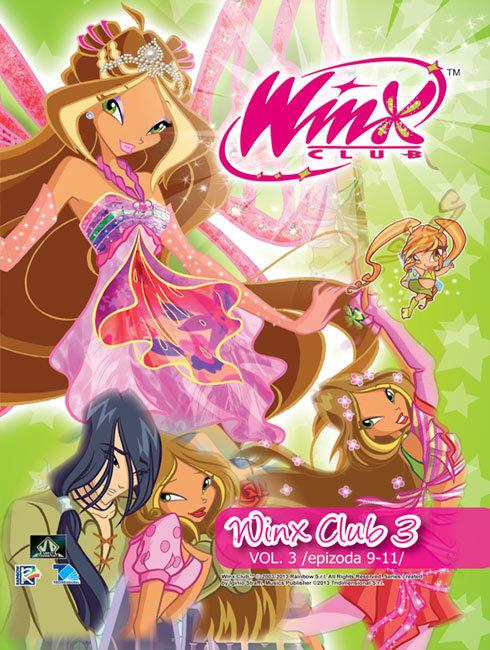 Winx club 3. série (09-11. díl) (DVD)