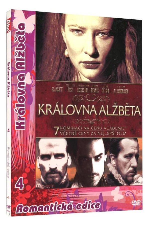 Královna Alžběta (DVD) - digipack