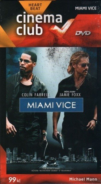Miami Vice (DVD) - edice Cinema Club