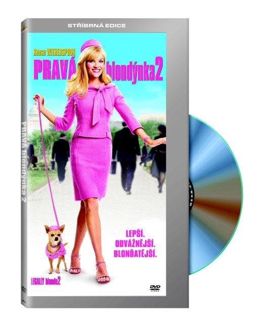 Pravá blondýnka 2 (DVD) - digipack