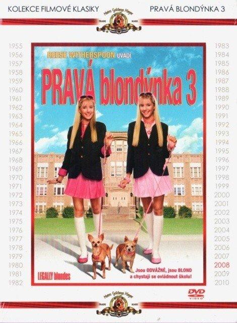 Pravá blondýnka 3 (DVD) - kolekce filmové klasiky - vyřazeno