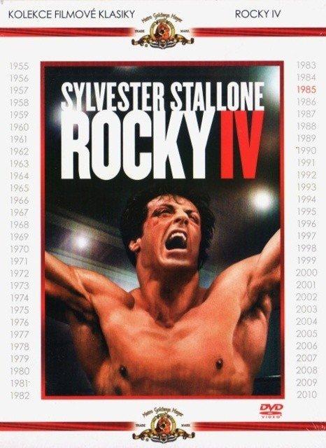 Rocky IV (DVD) - kolekce filmové klasiky - vyřazeno