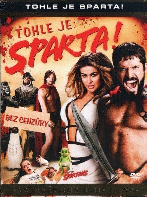 Tohle je Sparta! (DVD) - hvězdná edice