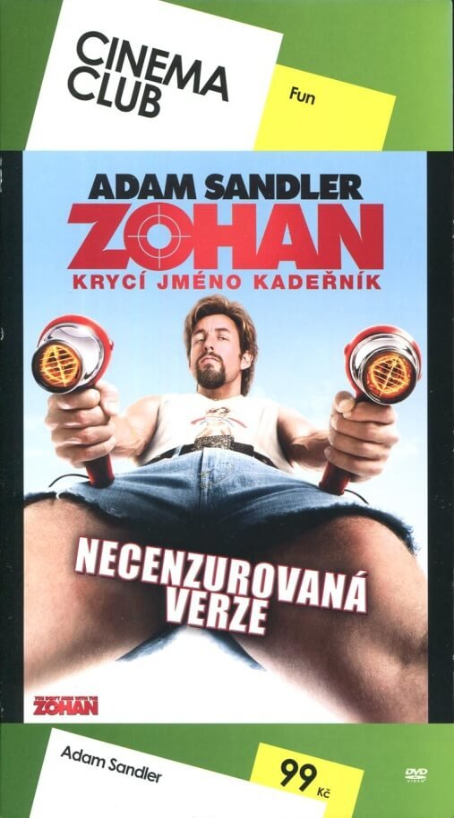 Zohan - Krycí jméno Kadeřník (DVD) - edice Cinema Club