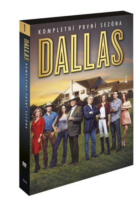 Dallas - 1. série (2012) - 3 DVD - nové pokračování
