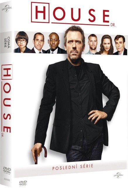 Dr. House 8. sezóna - (6xDVD) (tv seriál) - poslední série